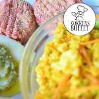 vegetar buffet ud af huset